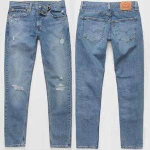 Levi's® 512™ Slim Taper Stretch Distressed Jeans